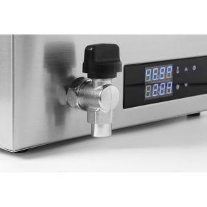 Aparat de gatit Sous-Vide GN 1/1, 600 W, Termostat, Argintiu, Hendi