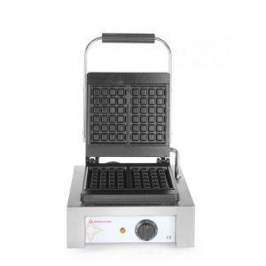 Aparat profesional pentru preparat wafe, 1500 W, Revolution by Hendi, 320x470x (H) 225 mm, capacitate 2 wafe belgiene 105 x 170 mm