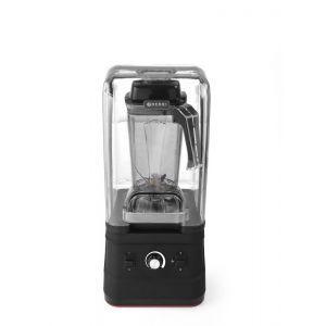 Blender profesional, capac protectie fonica, digital, cana policarbonat 2.5 lt, viteza max 24800 rpm, 252x258x(H)547 mm, Hendi