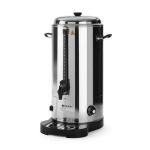 Boiler bauturi calde cu pereti dubli, 2200 W, 9 L, Argintiu/Negru, Hendi