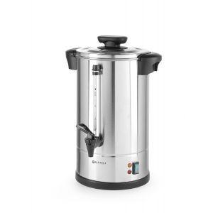 """Boiler pentru bauturi calde cu pereti dubli, 2250 W, 20 L, Temp 30 - 100˚C , Argintiu, sistem inchidere """"Twist-lock"""", Inox, 360x380x(H)598 mm, Hendi"""