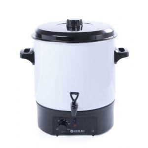 Boiler pentru bauturi fierbinti 27 lt, corp emailat, termostat 0-90 gr C, 1800W, 460x480x349mm, Hendi