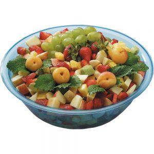Bol pentru salata, plastic transparent, 320x(H)100 mm, 4 lt, Hendi