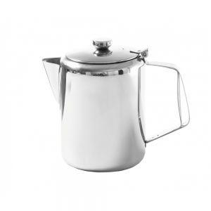 Cafetiera/ceainic cu capac, otel inoxidabil, 0.6 L, Ø9,7x14,2 cm, Hendi