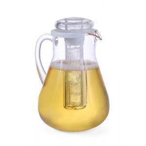Carafa suc cu element racire, 3 Lt, plastic transparent rezistent, Hendi