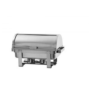 Chafing dish capac rolltop Gastronorm GN1/1, inox, 59x34x(H)40 cm, Model Rental-Top, Hendi