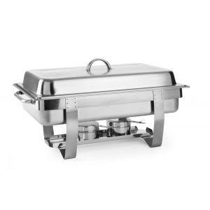 Chafing dish Gastronorm GN 1/1, inox, 9lt, 585x385x(H)315 mm, Fiora, Hendi