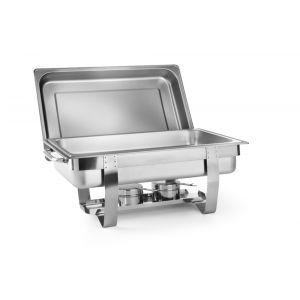 Chafing Dish Gastronorm GN1/2, 4,5 lt, inox, 385x295x310 mm, Hendi