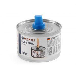 Combustibil lichid cu fitil - 6 in tava - 145 gr, Hendi