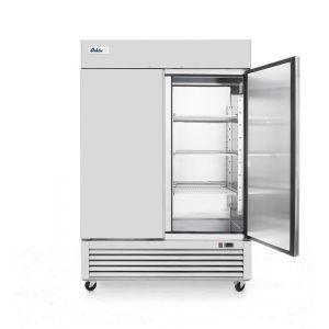 Congelator profesional ARKTIC by Hendi Kitchen Line cu 2 usi 1300 L 1262x640x(H)1525 otel inoxidabil -18/-12°C 6 rafturi potrivite pentru GN 2/1