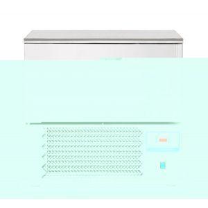 Congelator profesional cu 1 usi 10 GN 1/1 sau 10 tavi 600x400 mm otel inoxidabil +3 /- 18°C 1490 W 750x740x(H)1290 mm, Hendi