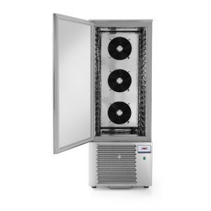 Congelator profesional cu 1 usi 20x GN 1/1 sau 20x tavi 600x400 mm 2040 W 750x740x(H)2080 otel inoxidabil +3 /- 18°C, Hendi