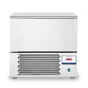 Congelator profesional cu 1 usi 5 GN 1/1 sau 5 tavi 600x400 mm otel inoxidabil +3 /- 18°C 1420 W 750x740x(H)880 mm, Hendi