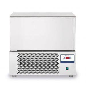 Congelator profesional cu 1 usi 7 GN 1/1 sau 7 tavi 600x400 mm otel inoxidabil +3 /- 18°C 1490 W 750x740x(H)1290 mm, Hendi