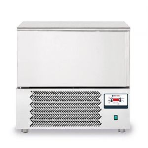 Congelator profesional Nano cu 1 usi 5x GN 1/1 sau 5x 600x400 mm otel inoxidabil +3 /- 18°C 1420 W 750x740x(H)850/880 mm, Hendi