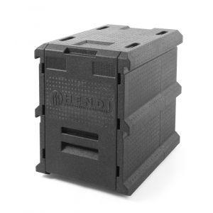Container termoizolant pentru tansport mancare sau catering, 66 lt, capacitate incarcare 5 X tavi GN 1/1 (H=65 mm), Hendi