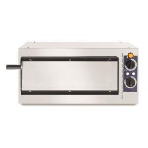 Cuptor pizza clasic 1 camera, 1/40, termostat 50-320 gr C, 1600W, 568x430x(H)280 mm, Hendi