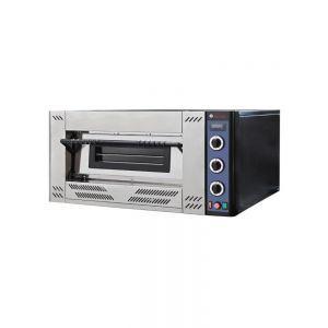 Cuptor pizza gaz 9 620x620x(H)150 mm 1 camera Inox Interval de temperatura: de la 0˚C la 450˚C Consum de gaz G20 sau G25: 2,852 m³/h, Hendi
