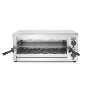 Cuptor tip Salamandra cu Quartz Hendi, 3645 W, Inox, termostat, cronometru, 3645W, 689x397x(h)318mm