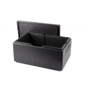 Cutie termoizolanta cu capac pentru transport, 53 lt, ideala pentru transport, spuma polipropilenica, interior 625x425x(H)200mm, exterior 685x485x(H)260 mm, Hendi Kitchen Line