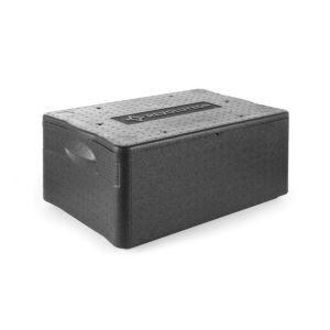 Cutie termoizolanta cu capac / thermobox, 40 lt, GN1/1, Revolution by Hendi, din spuma polipropilenica, 600x400x(H)285 mm