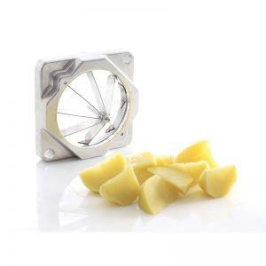 Cutit 8 mm pentru aparat taiat cartofi, Hendi, feliaza cartofi in stil wedges, 8 parti egale, Inox