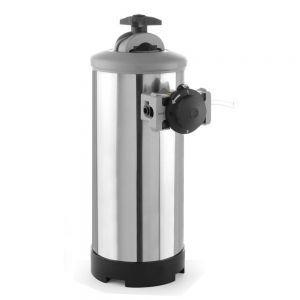 Dedurizator apa cu By-pass, presiunea maxima / minima a apei: de la 1 la 8 bari, ø185x(H)400 mm, capacitate, 8 l /5,6 kg Inox debit nominal: 800 L / h, Hendi