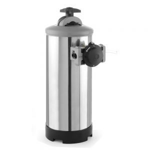 Dedurizator apa cu By-pass, presiunea maxima / minima a apei: de la 1 la 8 bari, ø185x(H)600 mm, capacitate, 16 l /11,2 kgInox debit nominal: 800 L / h, Hendi