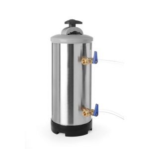 Dedurizator apa, presiunea maxima / minima a apei: de la 1 la 8 bari, ø185x(H)500 mm, capacitate, 12 l / 8,4 kg, otel inoxidabil, Hendi