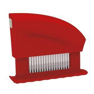 Dispozitiv fragezire carne, cu 51 lame, otel inoxidabil 18/8, plastic ABS, 15x4.2x11.8 cm