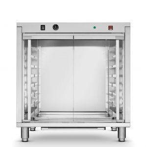 Dospitor profesional Inox 2 incalzitoare 2,4 kW 12 tavi x 600x400 mm 30°C la 60°C, Hendi