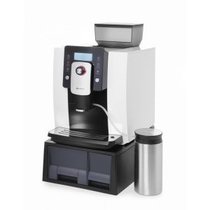 Espresor cafea automat Hendi Profi Line, profesiional, rasnita inclusa ,alb