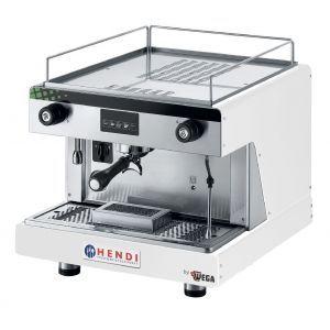 Espressor profesional Top Line BY WEGA 2900 W Alb 530x555x(H)515 mm control electronic programarea a pana la 4 cafele pe grup, Hendi