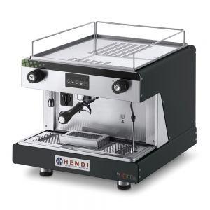 Espressor profesional Top Line BY WEGA 2900 W Negru 530x555x(H)515 mm control electronic programarea a pana la 4 cafele pe grup, Hendi