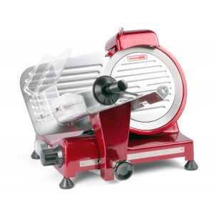 Feliator carne Hendi Profi Line 220, 280 W, Grosime reglabila, Diametru max 150mm, Rosu