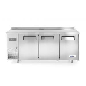 Frigider profesional ARKTIC by Hendi Kitchen Line cu 3 usi 390 L 1800x600x(H)850 mm otel inoxidabil -2/8°C 400 W 3 rafturi 2x 430x428 mm, 1x 490x428 mm incluse