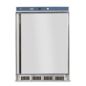 Frigider profesional Hendi Budget Line cu 1 usa 130 L 600x585x(H)855 mm otel inoxidabil 2/8°C 100 W 3 rafturi cu dimensiuni 2x 500x415, 1x 500x211 mm
