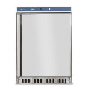 Frigider profesional Hendi Budget Line cu 1 usa 350 L 600x585x(H)1850 mm otel inoxidabil 2/8°C 130 W 4 rafturi cu dimensiuni 3x 500x415, 1x 500x211 mm