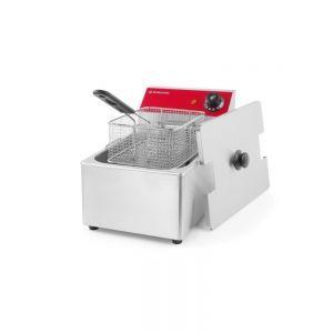 Friteuza electrica profesionala 6 lt, REVOLUTION by Hendi, 3000 W, termostat reglabil 50-190 C, 265x430x(H)290mm