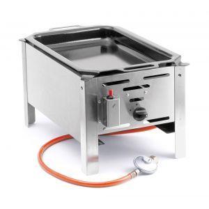 Grill Hend Bake Master - model Mini - otel inoxidabil, 500W, pt uz exterior, Hendi