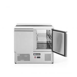 Masa frigorifica rece pentru salate, ARKTIC by Hendi, interval temperatura 2/10 gr C, 250 W, 90x69.8x(H)85 cm