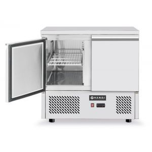 Masa rece cu 2 usi, profesionala, ARKTIC by Hendi Kitchen Line, racire ventilata, consum mediu 4.5 kW, capacitate camera frig 300 lt