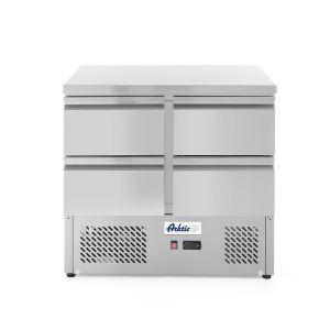 Masa rece cu 4 usi profesionala inox ARKTIC by Hendi 300 L interval temperatura -2/+8 gr C 220 W 900x700x(H)880 mm