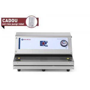 Masina pentru ambalare vacuum Hendi Profi Line, banda etansare cu teflon, 520x280x(H)170 mm
