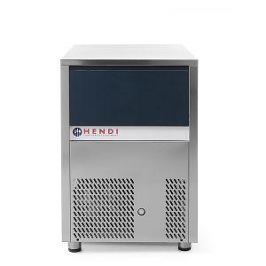 Masina profesionala fulgi de gheata racire cu aer inox 600 W productivitate de pana la 80 kg Kg in 24 H temperatura ambientala de functionare de pana la + 43°C ARKTIC by Hendi
