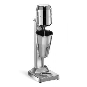 Milkshaker electric profesional, 140W, pahar inox 500 ml, corp inox, microcip pornire automata, Hendi