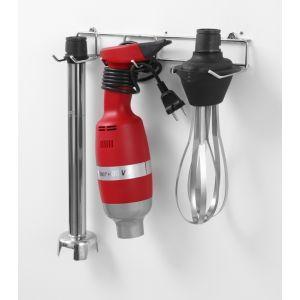 Mixer vertical profesional 4000W, 9 viteze, 2000-9000 rpm, Hendi Profi Line 400, tija 40 cm, cu tel si suport de perete, Ø100x350 mm
