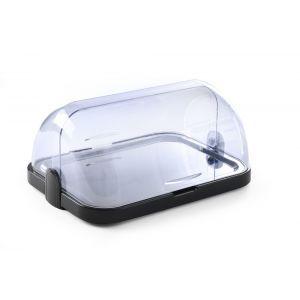Platou servire capac rolltop pentru bufet, cu tava inox si 2 elementi racire, 440x320x(H)205 mm, Hendi
