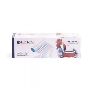 Pungi patiserie, potrivite pentru preparare calda si rece, set 100 buc., polietilena, 44,5x22 cm, Hendi