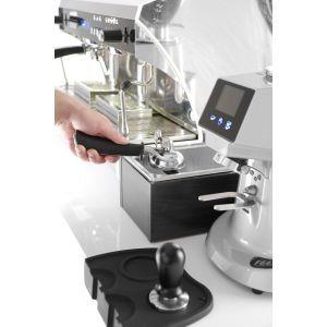Recipient pentru zat cafea in cadru de lemn, otel inoxidabil, 275x175x(H)110 mm, Hendi